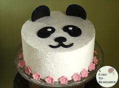 Panda cake topper panda baby shower cake decoration. Edible