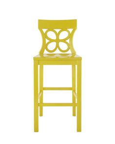This vibrant sunshine yellow bar stool is named after one of my favorite Palm Beach spots, the Breakers!