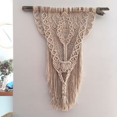 With a unique macrame oval centrepiece, this artwork features the finest of delicate pattern work and an abundance of detailed layering to create a statement piece that will hang so beautifully on ...