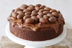 Σοκολατένιο+Πασχαλινό+κέικ