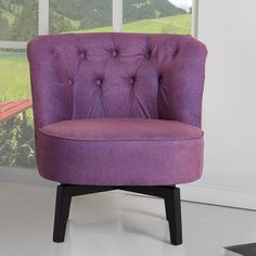 Found it at Wayfair - Raleigh Swivel Side Chair