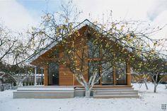 Проект дома SMUGA - Проект небольшого модульного дома, имеющий несколько стадий развития.