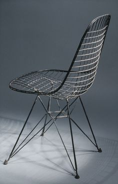 Charles and Ray Eames: Wire side chair (1980.509) | Heilbrunn Timeline of Art History | The Metropolitan Museum of Art
