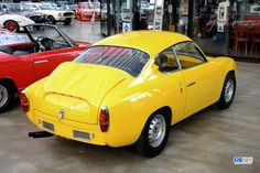 Fiat Abarth 750 Zagato cars classic coupe wallpaper background