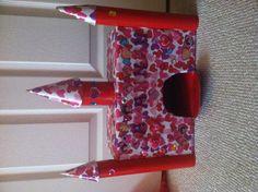 Princess castle Valentine's box!