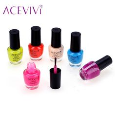 ACEVIVI Fashion Nail Gel  6pcs 4ml Candy Colors  UV Gel for Nail Fingernail Gel Polish  Professional Nail Gel Polish 31
