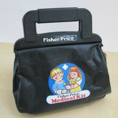 1980s toys   Fisher Price 1980s Doctors Bag and Toy Medical by MolecularModern