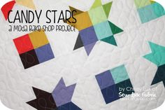 Candy Stars Mini Quilt
