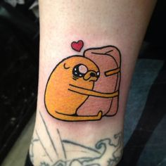 everything burrito jake adventure time tattoo