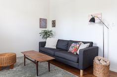 Living room art: Alex Kisilevich, Vanessa Maltese, Holly Coulis, Winnie Truong