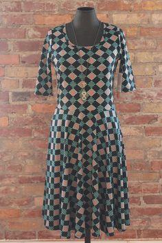 awesome LULAROE PRINT DRESS NWT