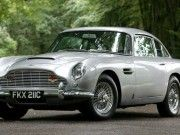 Aston Martin DB5 Paper Car Free Vehicle Paper Model Download