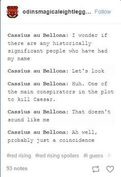 cassius, red rising