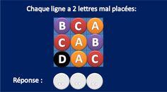 QCM-CONCOURS-GRATUITS: Carrés logiques. Les tests d'aptitude au concours IFSI