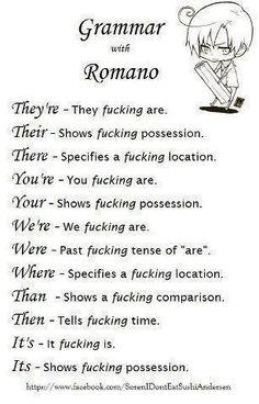 Grammar with Romano ~