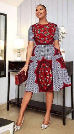 Modern African Dresses, African Print Dress Designs, African Wear Dresses, African Fashion Ankara, African Inspired Fashion, Latest African Fashion Dresses, African Print Fashion, Africa Fashion, African Attire