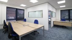 An extensive office fit-out project for KBA (UK) Ltd, including the #refurbishment and redecoration of two, ground floor office spaces at the company's #UK head office in #Watford...