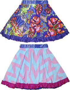 Twirly Girls Reversible Skirt