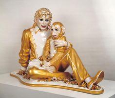 Michael Jackson and Bubbles, Jeff Koons