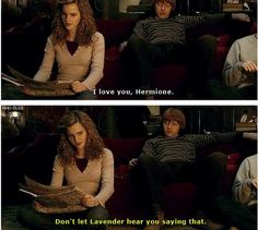 Image result for i love you hermione