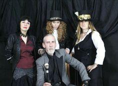 """Shooting fotografico per """"La Conchiglia compagnia teatrale etica"""" - Amleto ad occhi chiusi #steampunk #ritratti"""