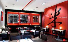 Reforma de restaurante Japonés.  Decoración idónea para impregnarse del sabor oriental y disfrutar de la calidad del sushi.