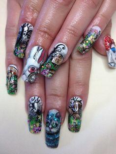 Tiger Nails | Nail Art! | Pinterest | Stamping, Print... and Belle