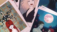 Tara McPherson's Goodies for the Launch Party - http://art-nerd.com/chicago/tara-mcphersons-goodies-for-the-launch-party/
