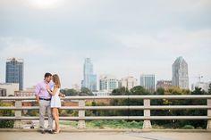Marie and Matt | Downtown Raleigh Engagement