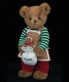 Jimmy Gingersnap by Bearington : Bearington Christmas : Kozy Clutter