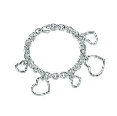 Tiffany & Co Heart Chain Bracelet
