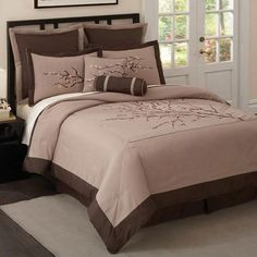 I pinned this Zen Blossom Comforter Set from the Design Report event at Joss & Main!