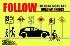 Best driving school in Bangalore: Book online for driving classes to learn four wheeler, two-wheelers and RTO services. Drivekool offer complete support for all services. Road Signals, Bangalore City, Road Markings, Learning To Drive, Driving Tips, Driving School, How To Apply, Signs