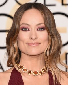 Golden Globe - 2016 - makeup