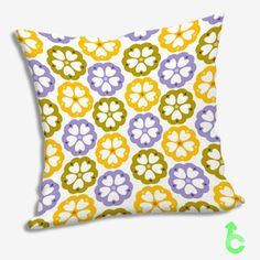 foral color pattern Pillow Cases  #Home&Living #Bedding #Bed #Vinyl #Homedecor #Pillow #Case #Pillowcase #Gift #Jewerly #Personalized #Custom #Print #On #Design #Best #Hot #Cushion #Foral #Color #Pattern #Floral