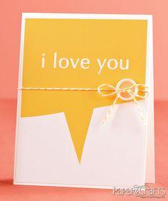 Sophisticated Love You card by Joscelyne Cutchens on Moxie Fab World