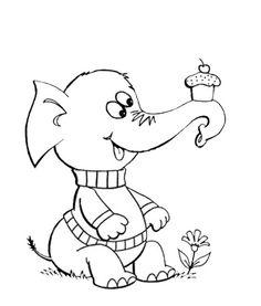 Elephant & Cake
