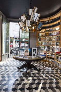 """Great bookstore and café in """"Istanbul Besiktas next to the Bosporus and city center  Proper coffee, healthy food and lot of books !  Photo by Instyle Home Turkiye"""""""