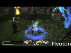 FFXIV: ARR Ninja Abilities - YouTube
