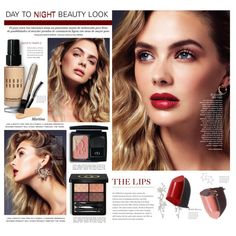 Day To Night Beauty Look by thewondersoffashion on Polyvore featuring polyvore, beauty, Gucci, Christian Dior, Bobbi Brown Cosmetics, By Terry, Eyeko, Jennifer Zeuner, BeautyTrend and Dior