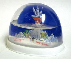 Vintage The Salt Lake Acting Co. Snow Globe/ Water Dome Collectible #151