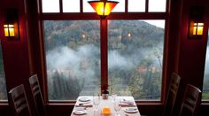 Salish Lodge restaurant, best breakfast ever - HOW to start Thanksgiving, the breakfast as Salish - best coffee mm mm.