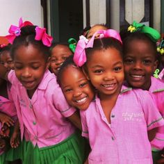 courageouswanderersofcolor:School days. Now that's Just ADORABLE.  Photo Credit: @Duplesplymouth Location: Ecole Marguerite D'youville Des Cayes City: Les Cayes, Haiti by visit_haiti https://instagram.com/p/z2iV50jzNT/