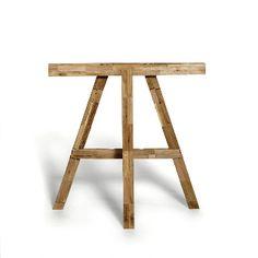 Tischbock aus Restholz. Faltbar.