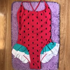 4e7b39ed983 Lazy Oaf Watermelon One Piece Swimsuit Original price