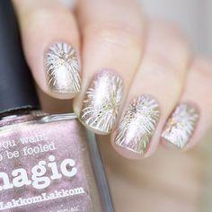 piCture pOlish = Have a magical 2016!  Edina aka LakkomLakkom wearing her collaboration shade 'Magic' ❤️  www.picturepolish.com.au