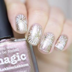 piCture pOlish = Have a magical 2016!  Edina aka LakkomLakkom wearing her collaboration shade 'Magic' ❤️  www.picturepolish.com.au