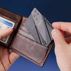 Credit Card Knife - Take My Paycheck - Shut up and take my money! | The coolest gadgets, electronics, geeky stuff, and more!