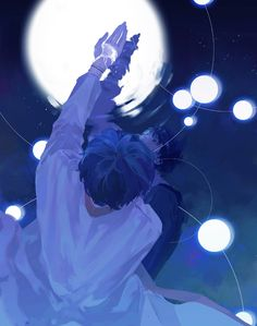 Art And Illustration, Fantasy Kunst, Fantasy Art, Aesthetic Art, Aesthetic Anime, Yuumei Art, Arte Peculiar, Anime Boy Zeichnung, Anime Kunst