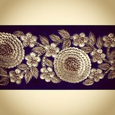 Border design and embroidery